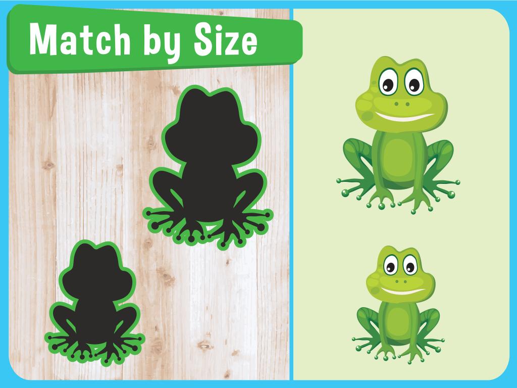 match by size