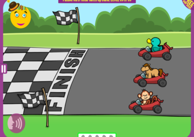 Level 20 of 20: The monkey overtook the horse, but finished behind the duck. Who won?