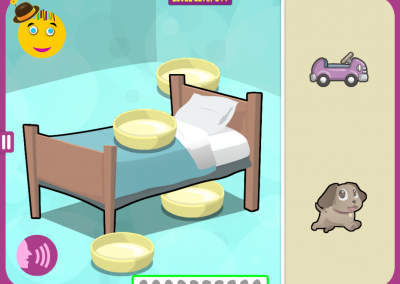 Level 221: Put the dog under the bed.