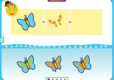 Level 20 of 50: Notice the shape of the wings and the color of the wing pattern.